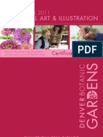 Catalog for Summer and Fall 2011 (July - December) courses in the Certificate in Botanical Art and Illustration Program at Denver Botanic Gardens