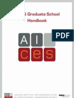 Graduate Handbook AICES 2010