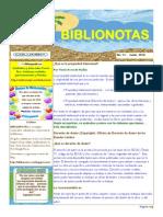 Biblionotas junio 2010