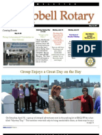 Rotary Newsletter May 10 2011