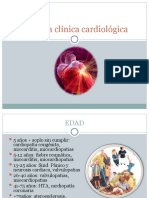 Historia clínica cardiológica