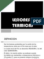 LESIONES TERMICAS