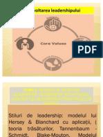 Modele Si Teorii de Leadership