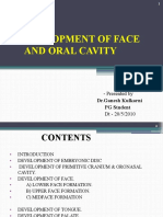 Development of Face & Oral Cavity