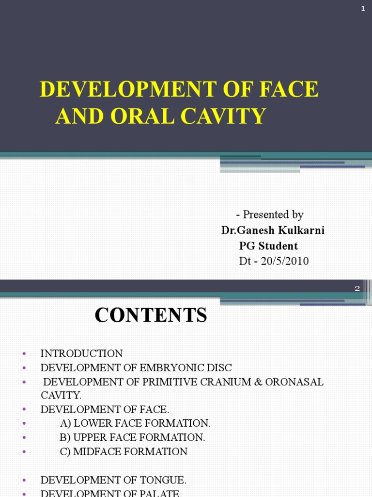 Anterior View Of Oral Cavity Manual Guide