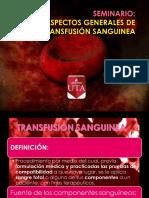 SEMINARIO TRANSFUSIONES