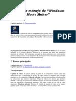 Curso de Manejo de Windows Movie Maker 2