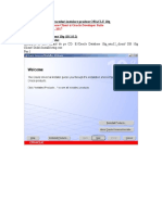 Proceduri Instalare ORACLE