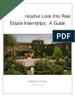 Real Estate Internship Report