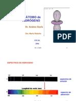 Ozols A. y Rebollo M., El átomo de hidrógeno