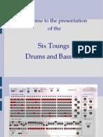 Notice Drums Bass Line 2 PDF