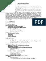 Resumos Direito Penal (da ação até concurso de crimes) - Capez - Mirabete