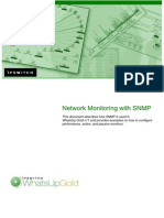 Network Monitoring With SNMP