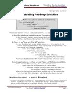 Evolving the Roadmap