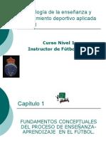 Metodología de la enseñanza y entrenamiento deportivo aplicada