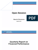 USPS FY 2011 Second Quarter BOG Presentation