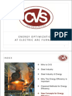 Energy Optimization at Eaf