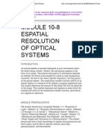Spatial Resolution Optical Systems