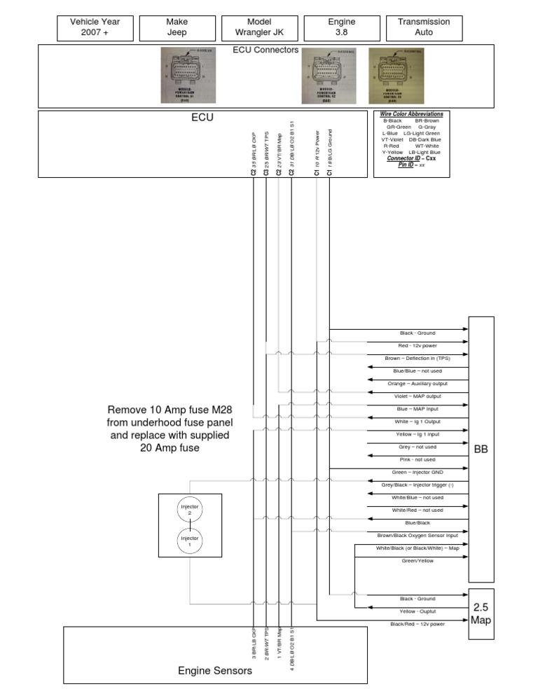 [SCHEMATICS_4JK]  Jeep Wrangler JK Ripp SDS Wiring Diagram | Motor Vehicle | Color | Sds Wiring Diagram |  | Scribd