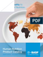 BASF Nutrition Ingredients_Global Product Catalog_Human January_ 2009