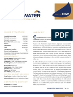 Edgewater Exploration (EDW) - Corporate Fact Sheet