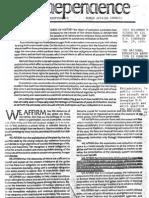 Declaration of Interdependence Steele 1976 2pgs GOV POL