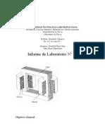 Comprobación de la ley de inducción de Faraday - Lenz.