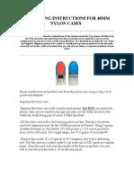 40mm Nylon Cases Reloading Instructions