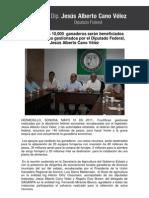 09-05-11 10 mil ganaderos sonorenses beneficiados con apoyos