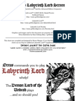 Advanced Labyrinth Lord Screen (v1.03)