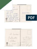 postales escritas