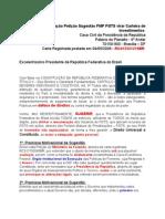 Reiteracao Peticao FMP a Presidencia da Republ