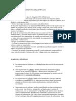 DISEÑO DE LA ARQUITECTURA DEL SOTFWAR