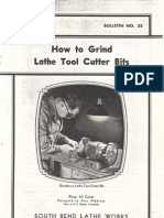 How to Grind Lathe Tools
