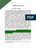 La Empresa y Las Finanzas