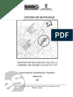 Estudio Movilidad Sector Plaza Minorista