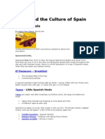 What Time is the Typical Lunch and Dinner Eaten in Spain