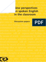 New Perspectives on Spoken English