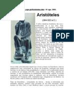 Aristóteles - VIDA E OBRAS