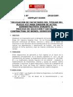 Directiva 1 Delegacion des Trabajo Con Gri,Oraj,Sgrdi