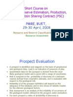 Prospect Evaluation