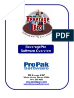 Beverage Pro Overview