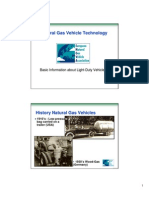 Natural Gas Vehicle Technology