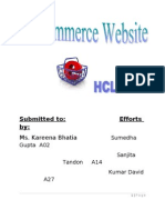 HCL E Commerce