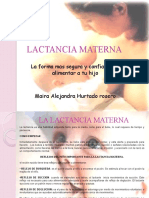 diapositivas LACTANCIA MATERNA