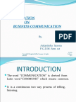 Communication Lecture