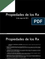propiedades rx