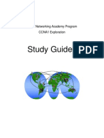 CCNA1 Exp Study Guides ALL