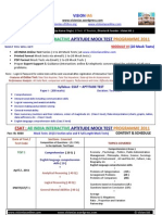 Csat m6 All India Aptitude Test 2011 20 Mock Tests Expert Support Guidance