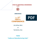 15th CEO Brochure-Goa